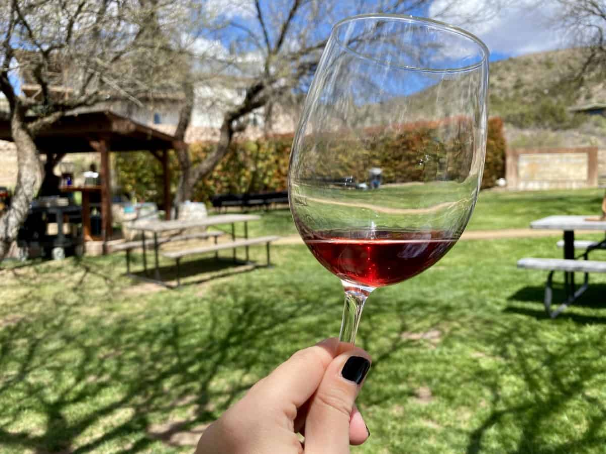 Javelina Leap is a lovely place to go wine tasting in Sedona