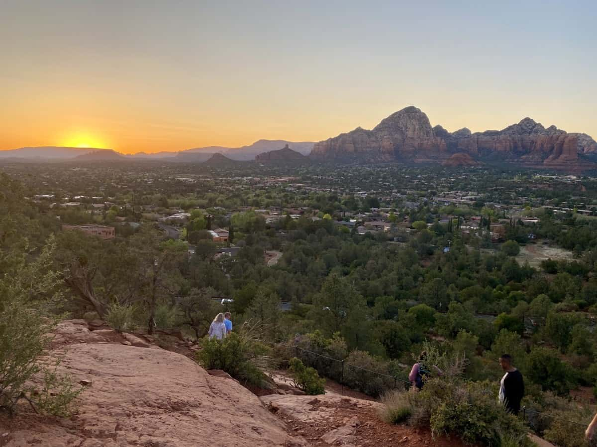 Why the Airport Mesa at sunset is one of the best sunset hikes in Sedona you'll find