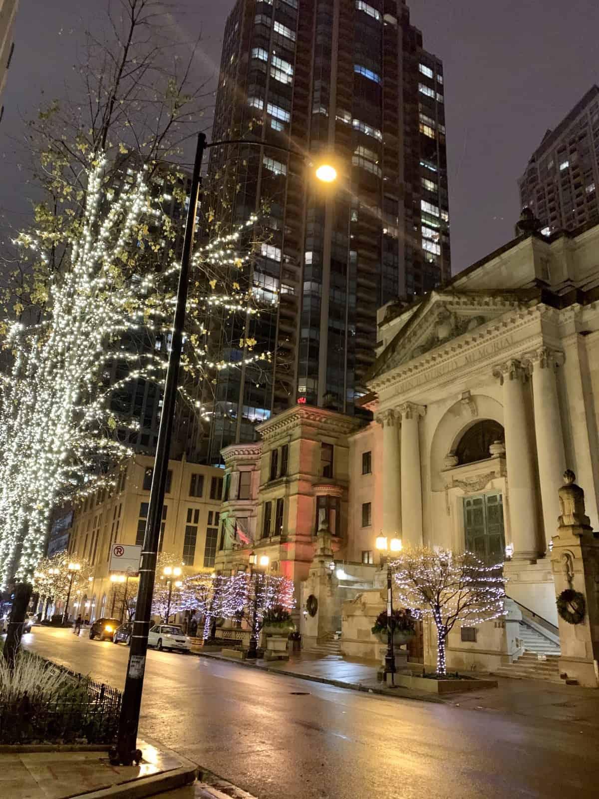 Even in winter Chicago sparkles