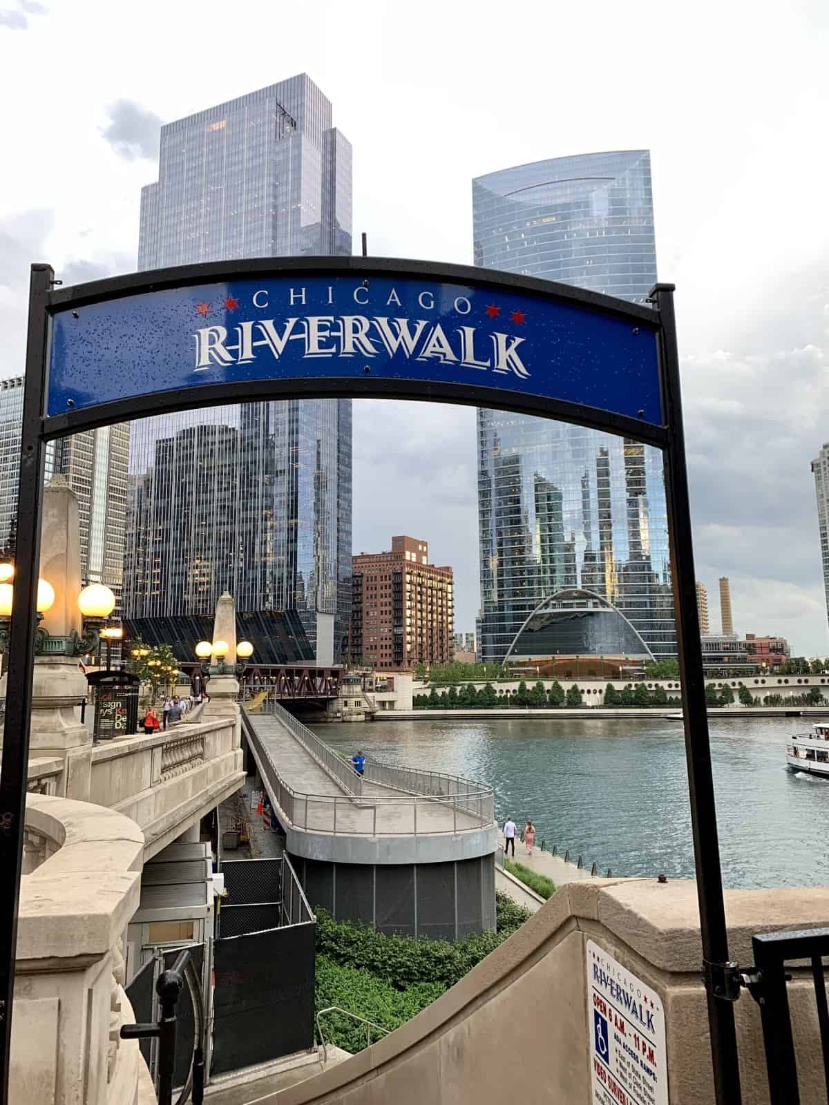 Things to do in Chicago for first-timers - spend time on the Riverwalk