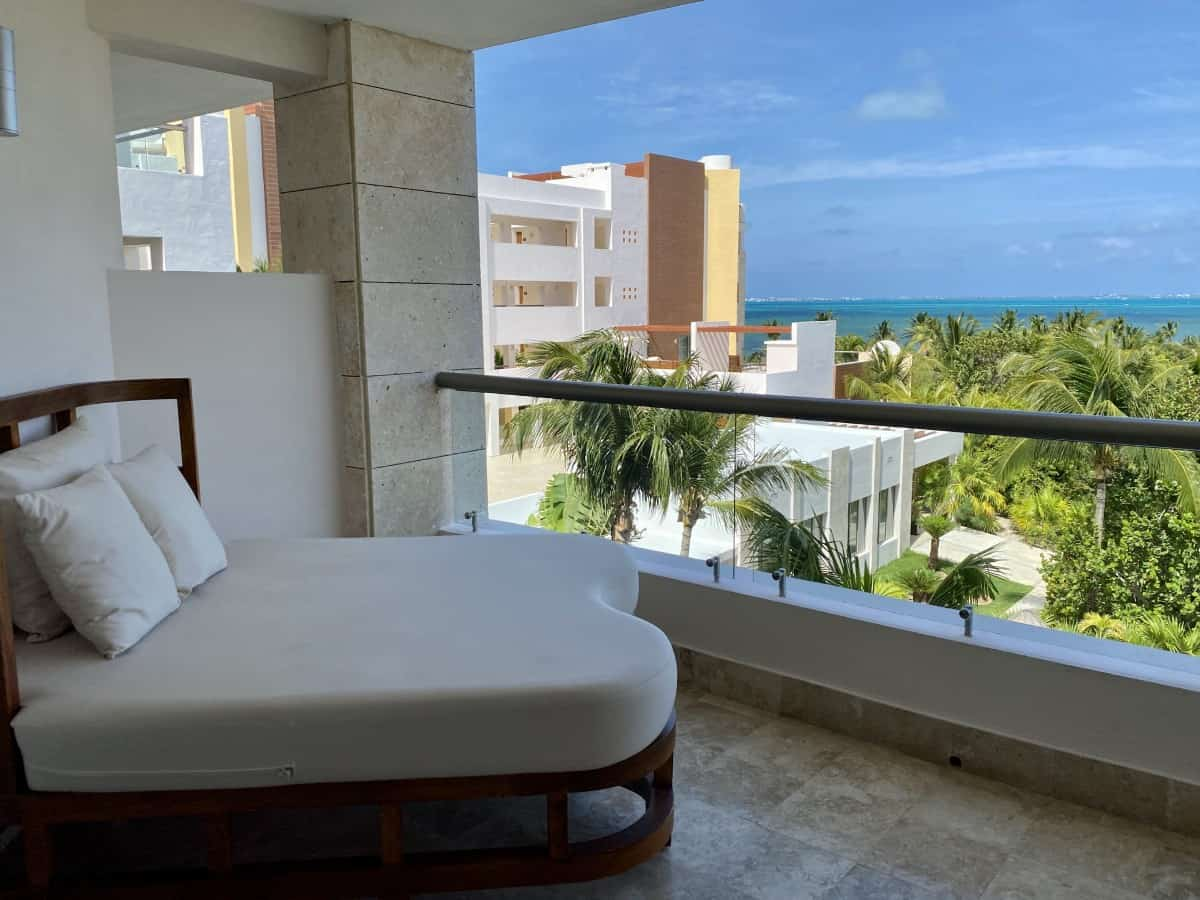 View from room 7320 at Excellence Playa Mujeres
