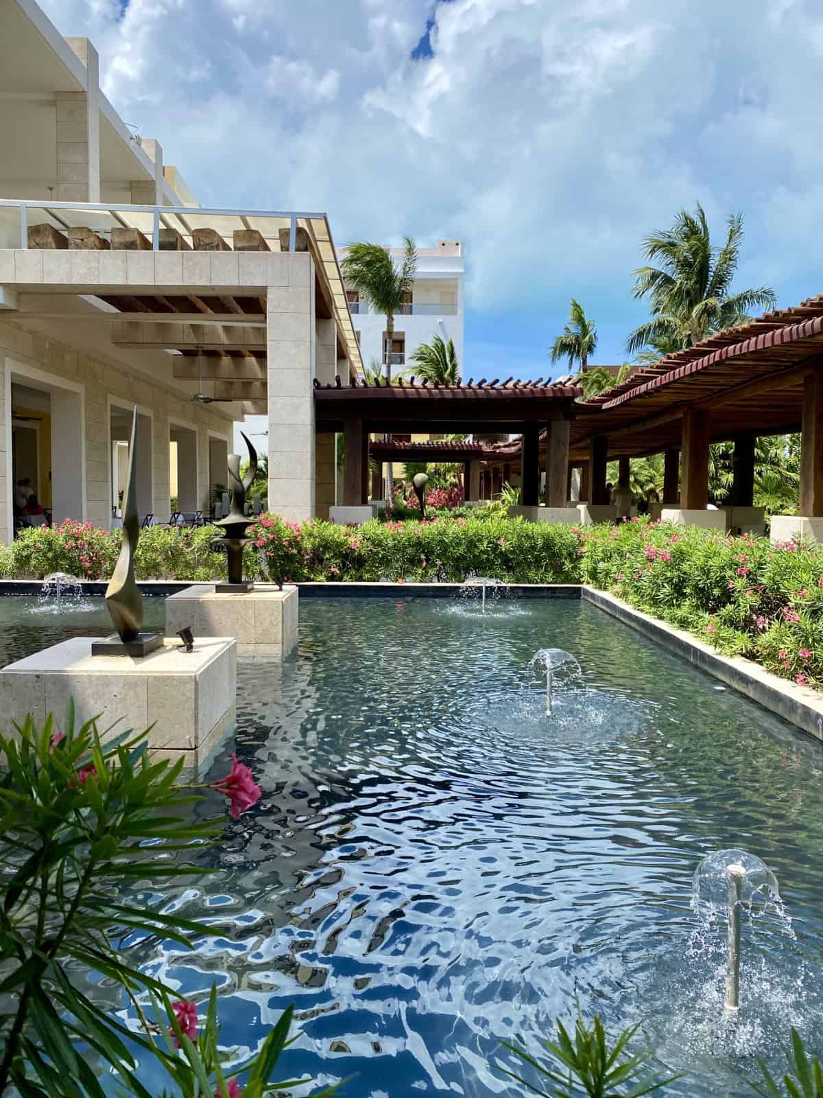 A detailed Excellence Playa Mujeres review, including the beautiful resort grounds!