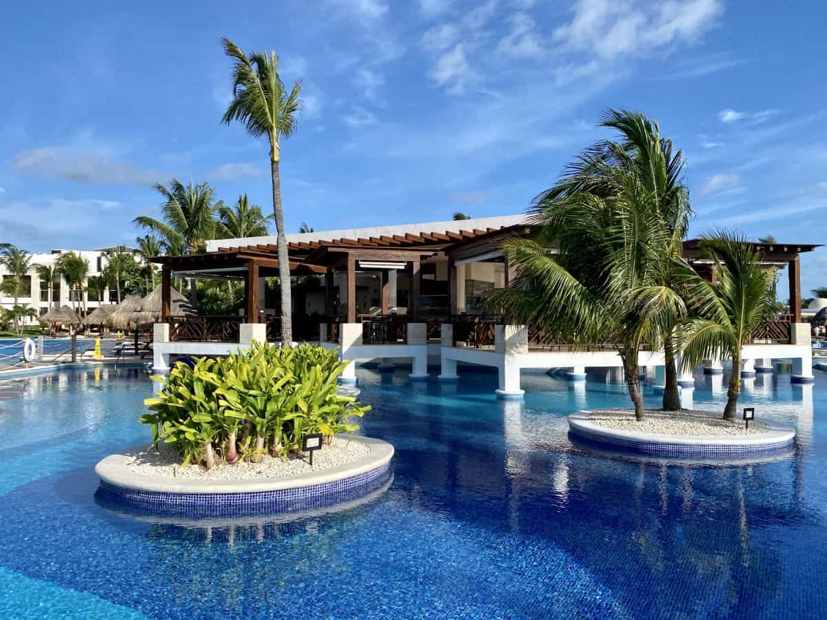 Lobster House sits at the center of the resort - a detailed Excellence Playa Mujeres review