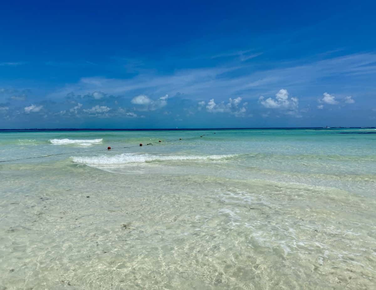 Stunning views on my Isla Mujeres excursion - a detailed Excellence Playa Mujeres review