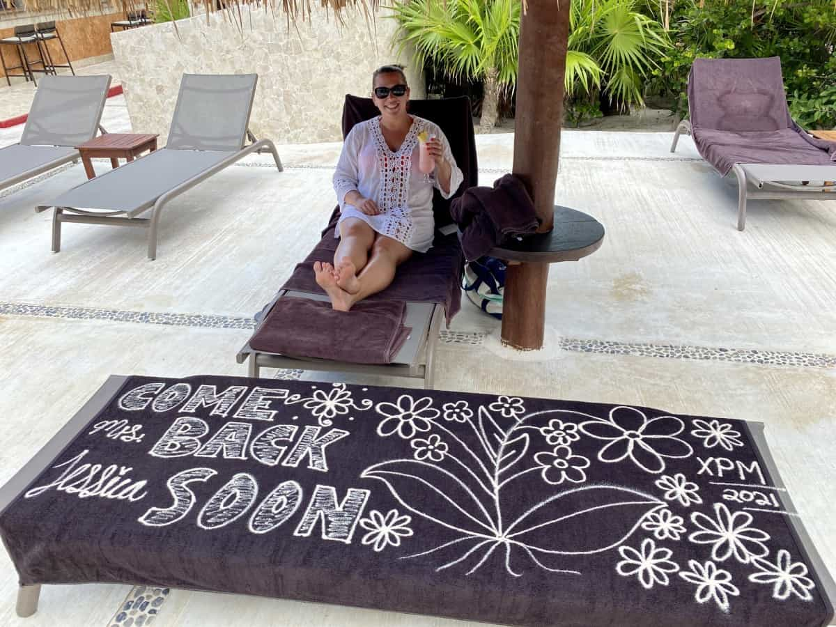 Little extra touches for Excellence Club guests - a detailed Excellence Playa Mujeres review