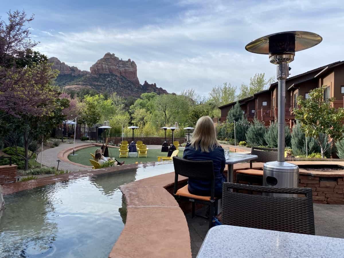 The best restaurants in Sedona - try Saltrock at Amara Resort