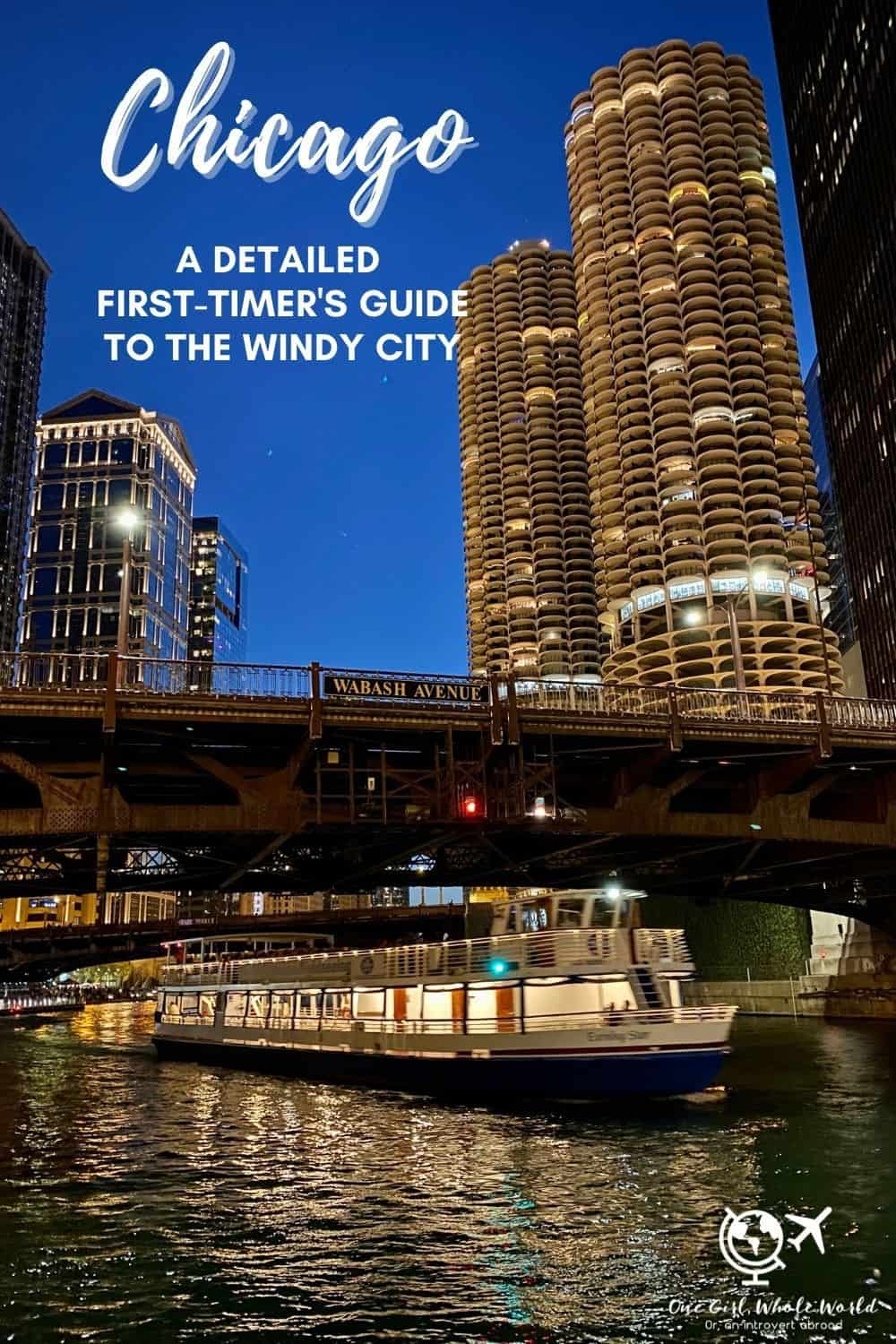 A Detailed First-Timer's Guide to Chicago | If you're planning a trip to Chicago (Illinois, USA), this super in-depth post of what to do in Chicago, where to stay, places to eat & drink, & more tips has got you covered. How to plan the best trip to Chicago, Chicago hotel recommendations, US travel tips. Chicago travel tips for the Windy City!