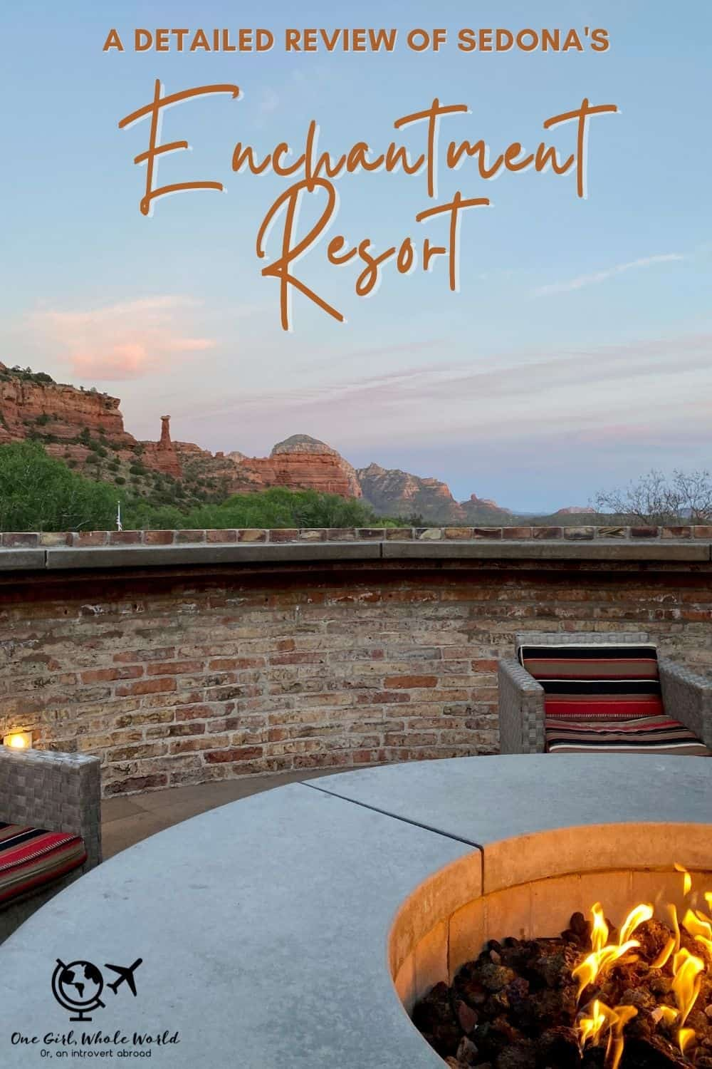 """Detailed Review of Sedona's Enchantment Resort   If you're looking for a splurge, luxury, or unique place to stay in Sedona, Enchantment Resort is probably on your list. This honest review gives a detailed account of my stay there, including rooms, grounds, pools, restaurants, service, hiking & more! And whether it qualifies as """"luxury"""". #sedona #arizona #resortreview #luxury"""