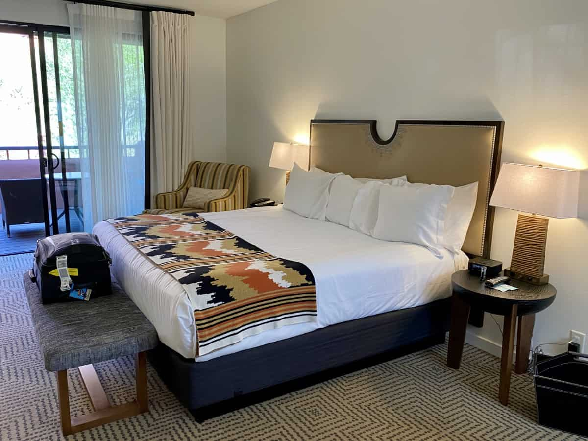 """Sedona's Enchantment Resort review - The rooms are very basic for a """"luxury"""" resort"""