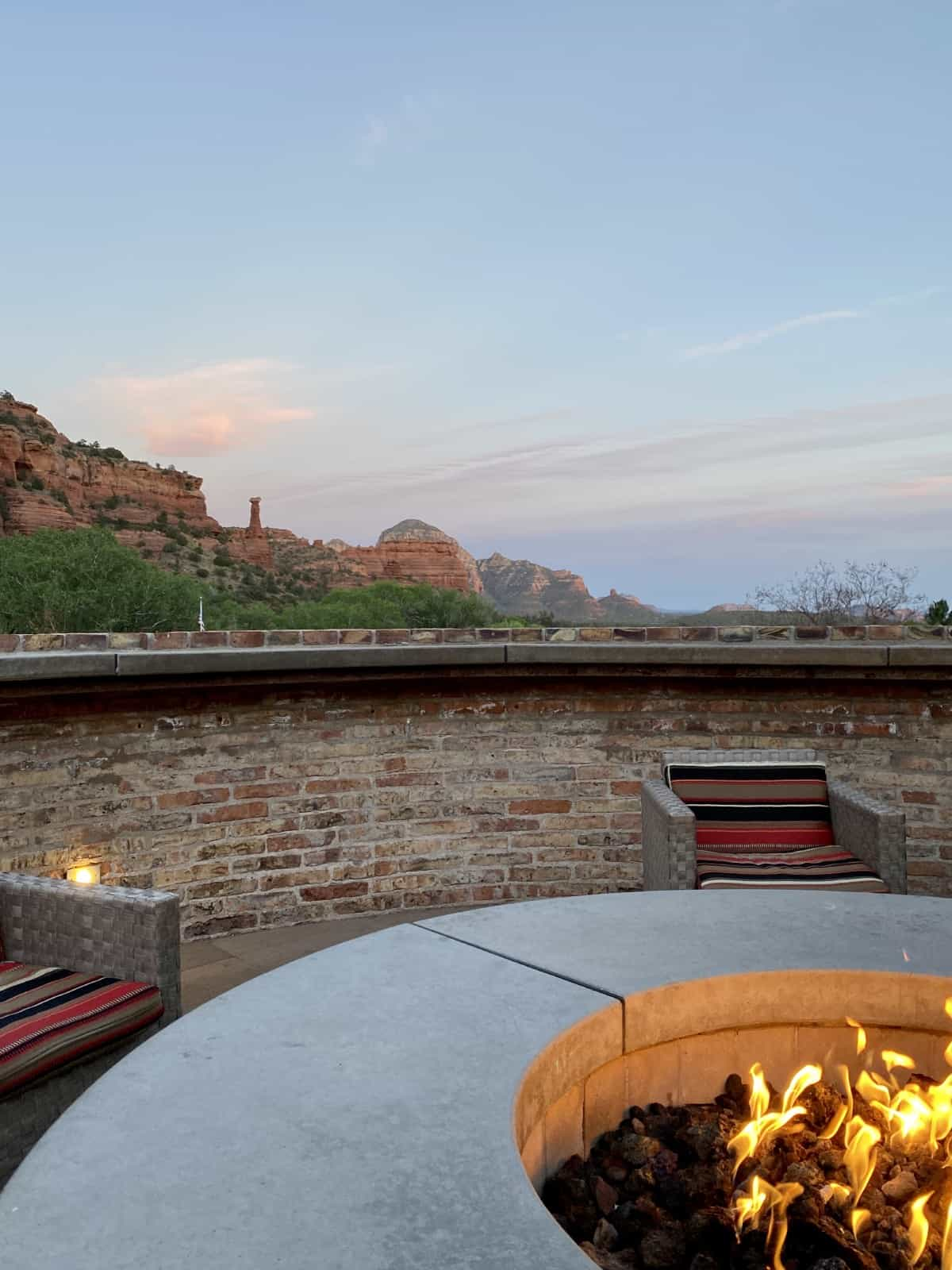 """Detailed Review of Sedona's Enchantment Resort   If you're looking for a splurge, luxury, or unique place to stay in Sedona, Enchantment Resort is probably on your list. This honest review gives a detailed account of my stay there, including rooms, grounds, pools, restaurants, service, hiking & more! And whether it qualifies as """"luxury""""."""