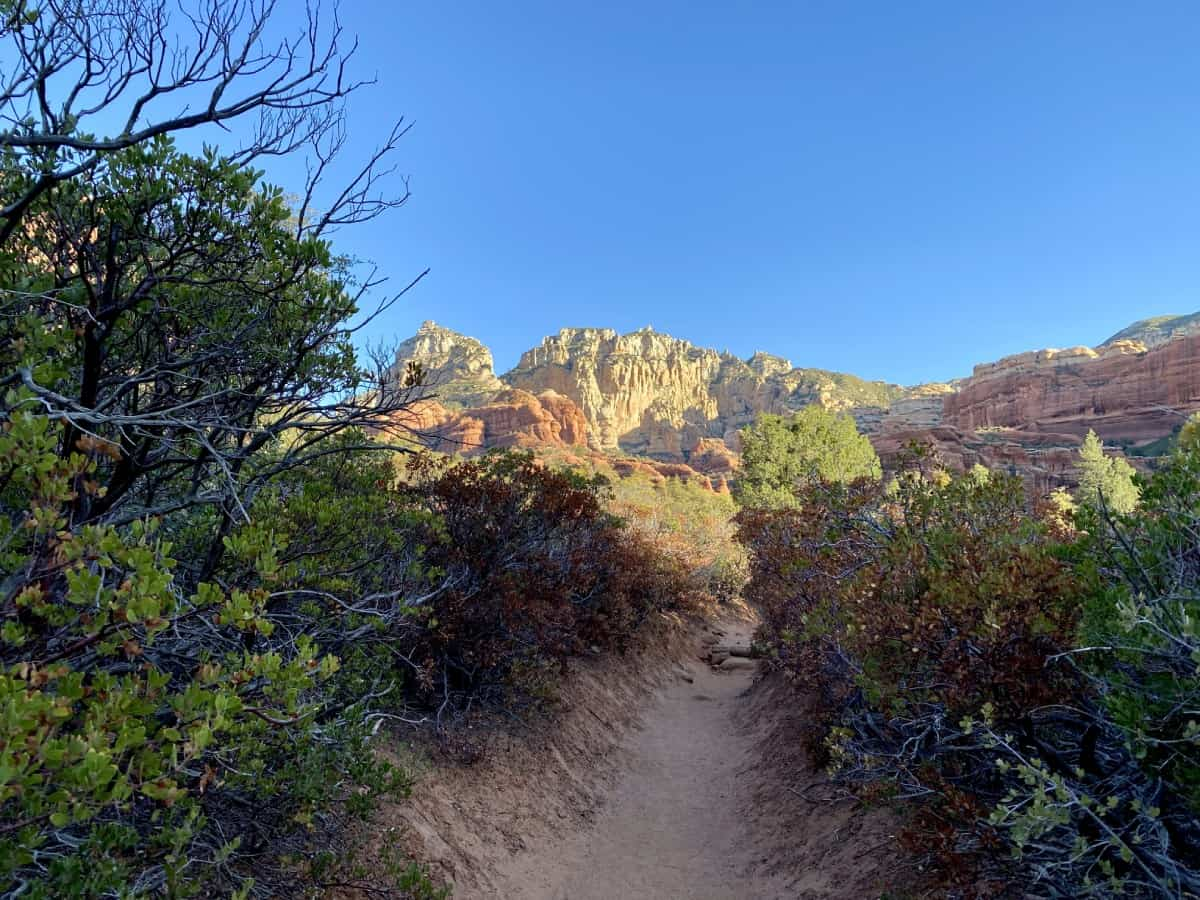 Sedona's Enchantment Resort review - you have great access to Boynton Canyon trails from the resort
