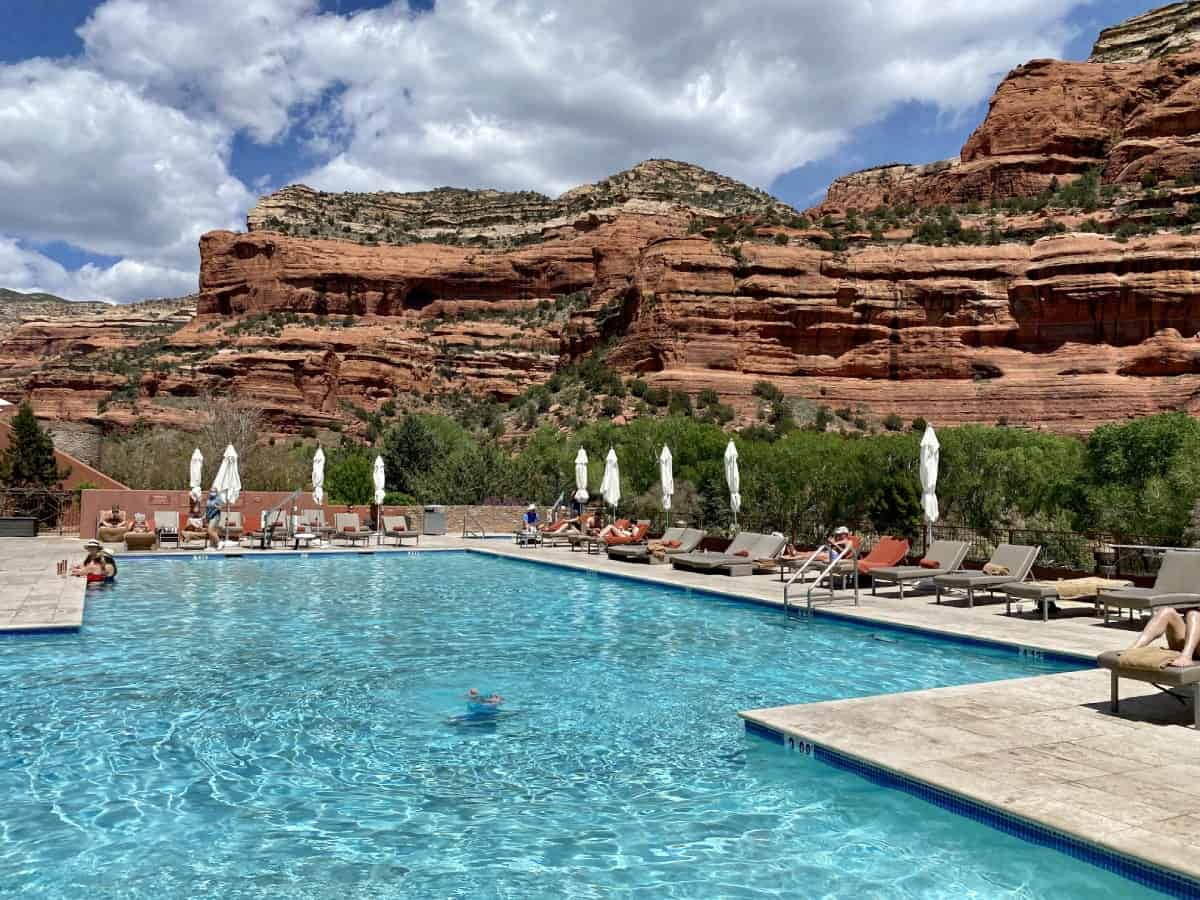 Sedona's Enchantment Resort review - The gorgeous main pool is definitely one of the selling points