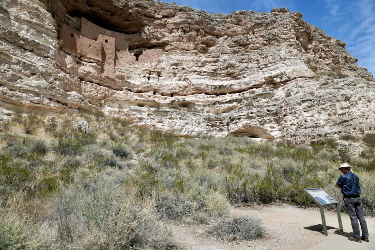 Montezuma Castle is a perfect stop if you're looking for things to see between Phoenix and Sedona - interesting history & architecture