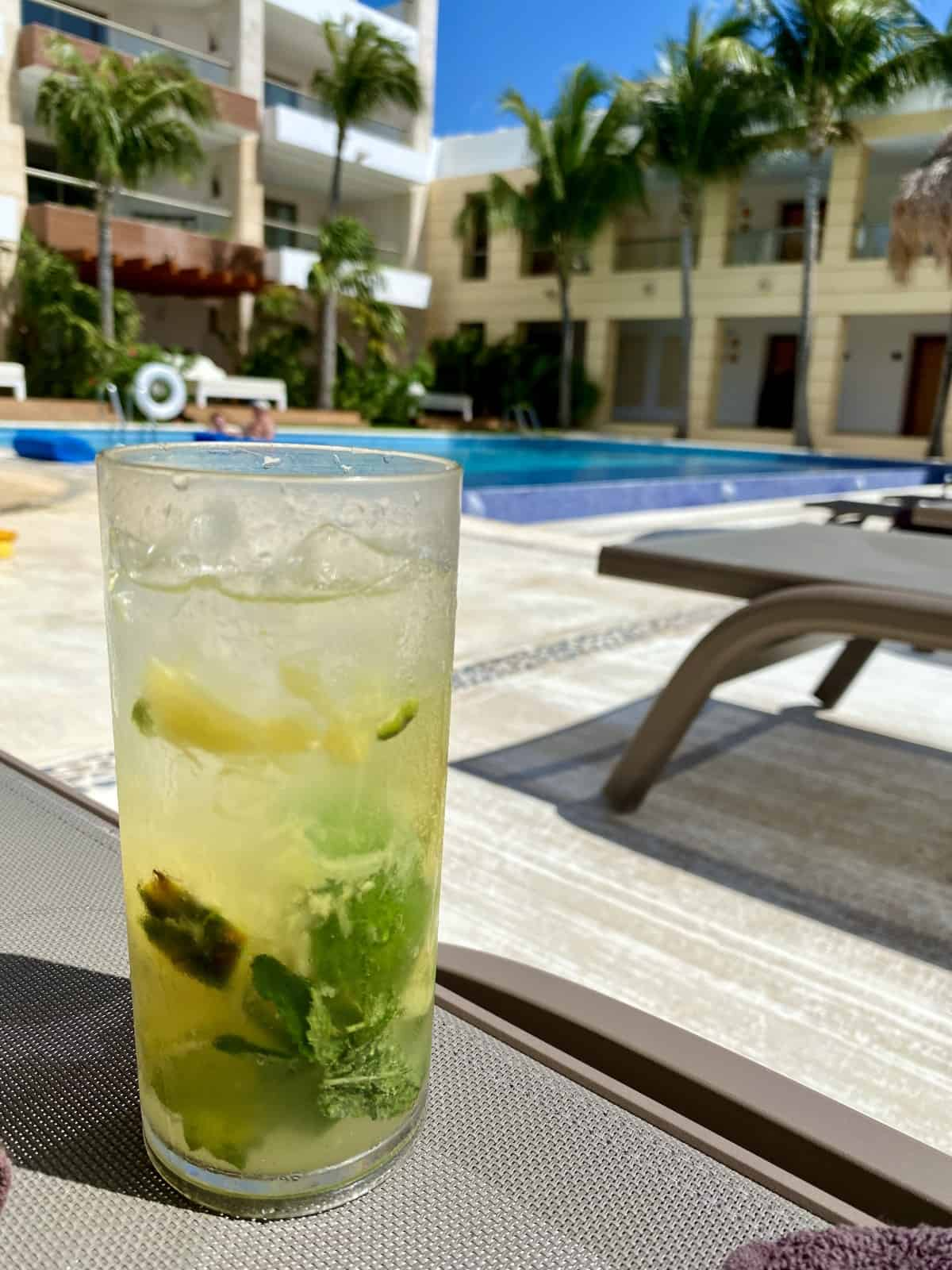 Detailed review of LeBlanc Cancun or Excellence Playa Mujeres - hanging out at Excellence Club pools