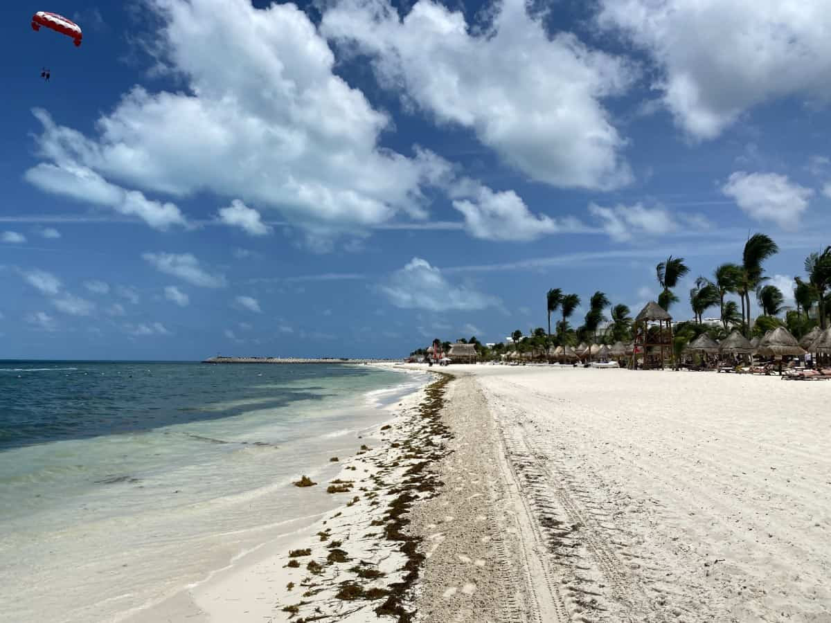 Detailed review of LeBlanc Cancun vs. Excellence Playa Mujeres - I wasn't a fan of the beach at EPM