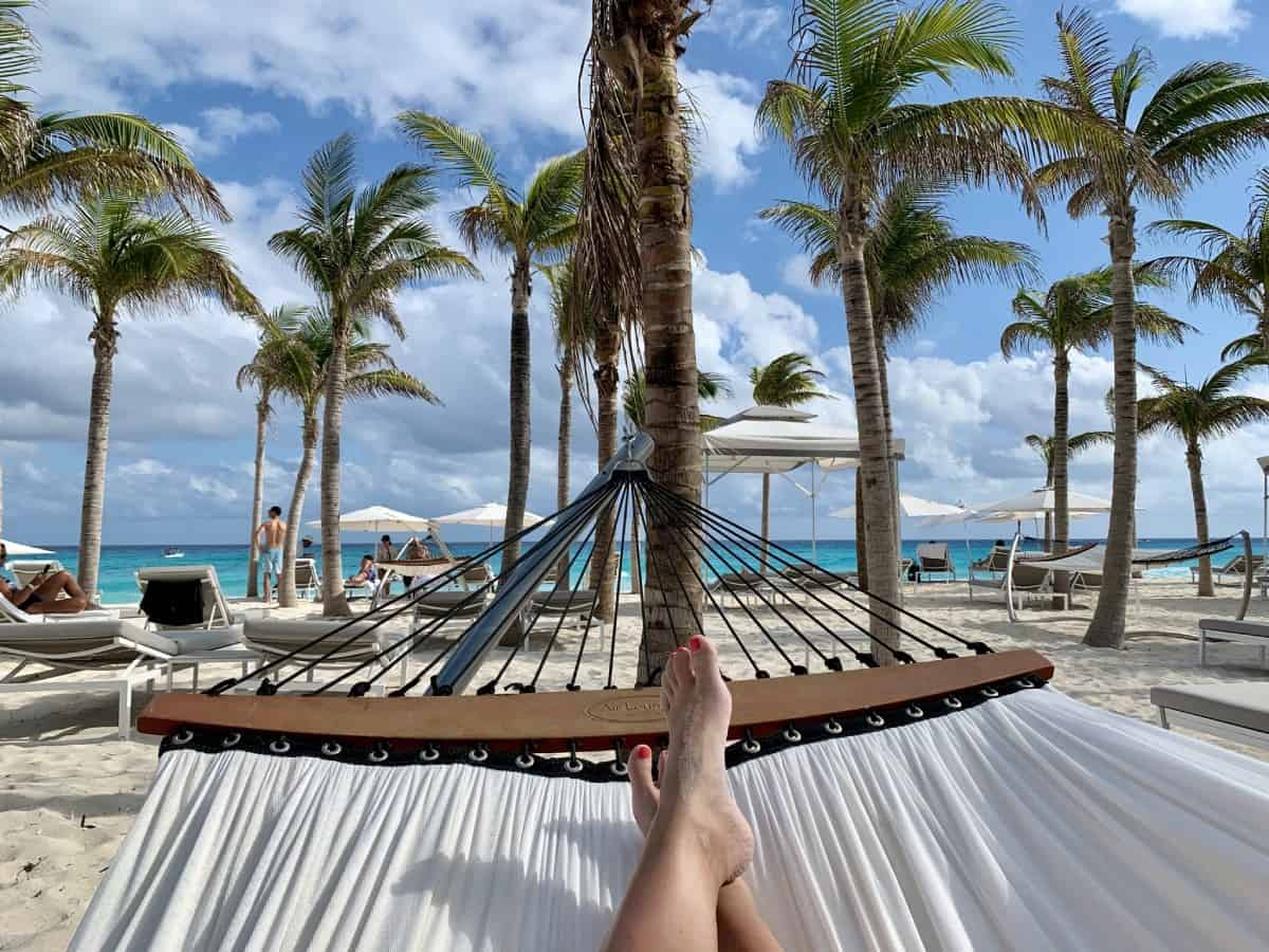 Detailed review of LeBlanc Cancun vs. Excellence Playa Mujeres - the beach at LeBlanc is lovely