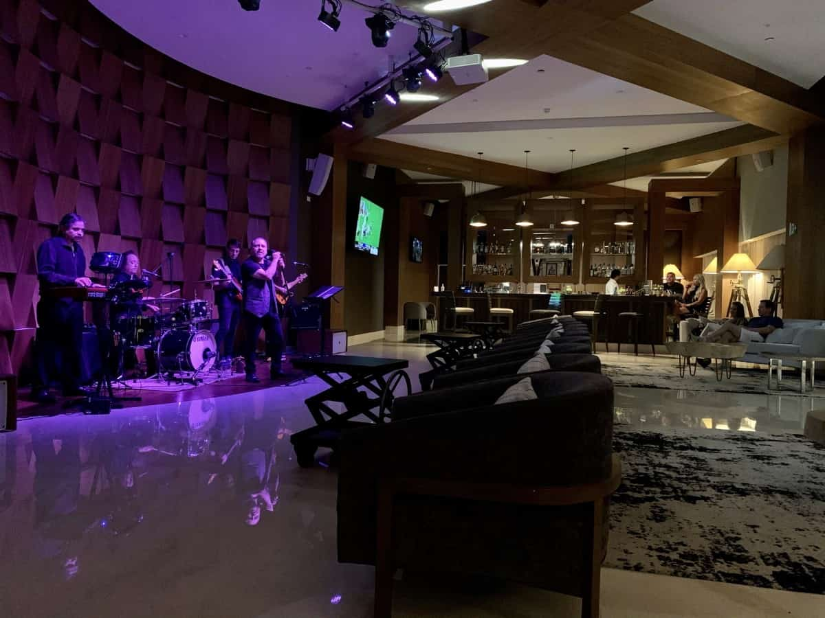 Detailed review of LeBlanc Cancun vs. Excellence Playa Mujeres - I loved the rock cover band at LeBlanc