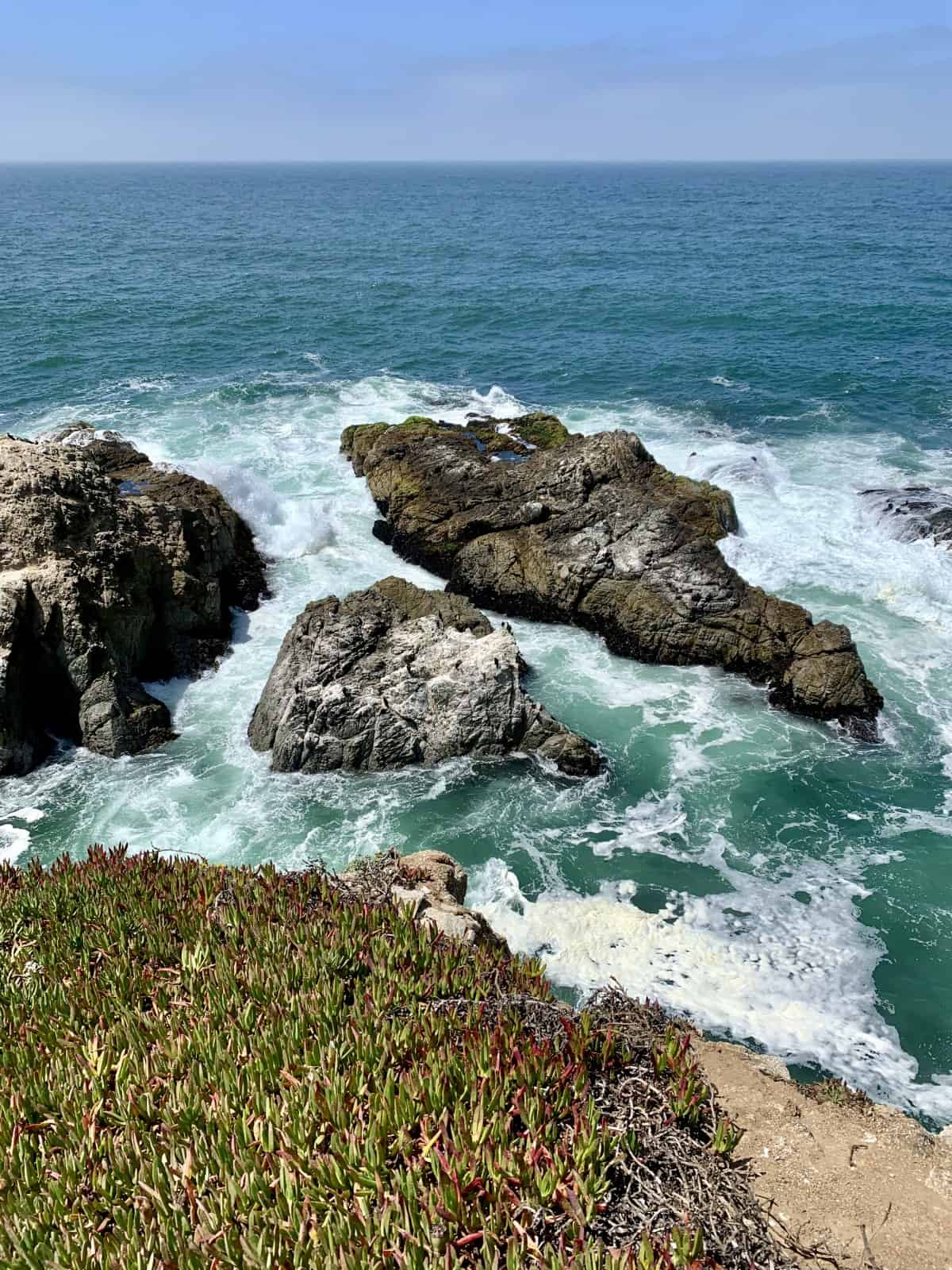 Hiking along the coast is one of the best things to do on the Sonoma Coast, California - where to eat in Sonoma Coast