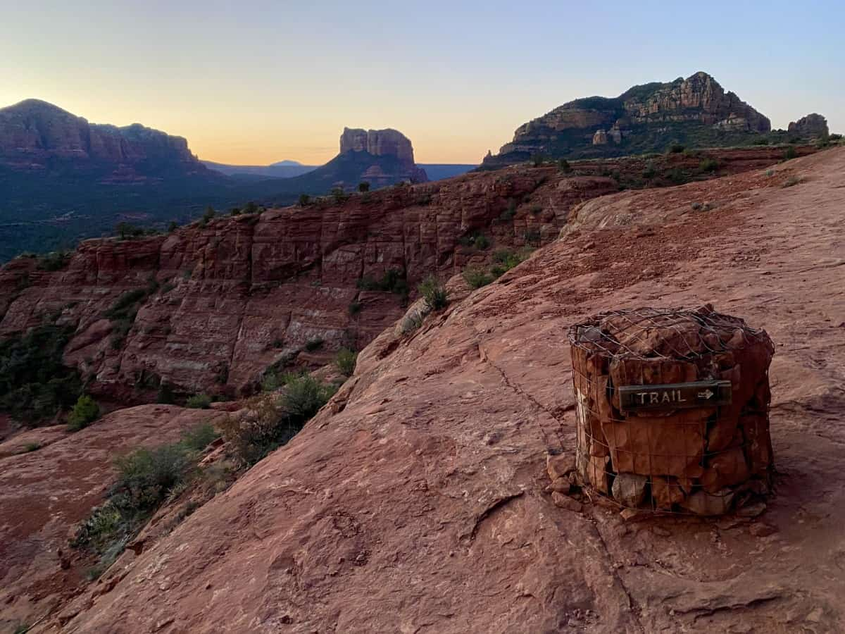 Sedona Hikes: What to Do & What to Skip   Cathedral Rock at sunrise is stunning (unless you're afraid of heights)